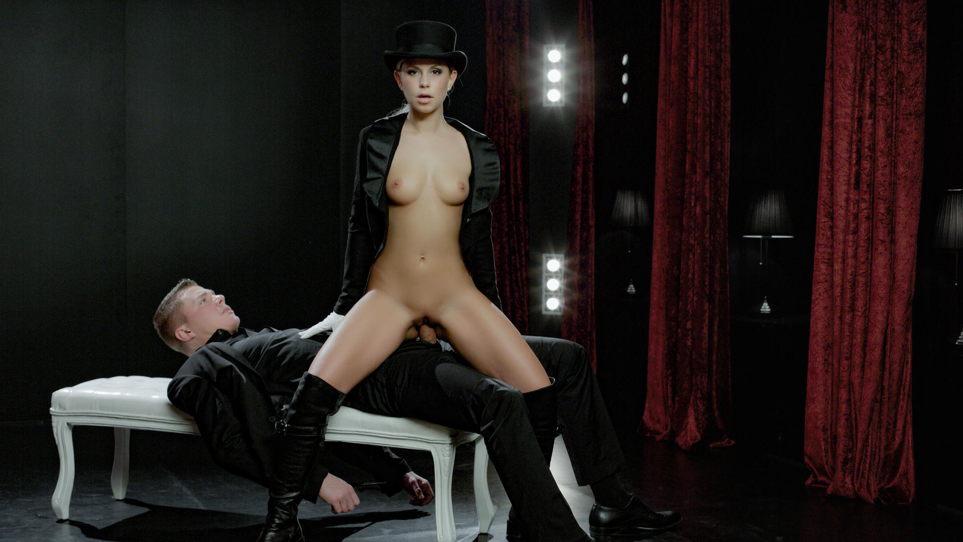Light domination and fetish fuck with gorgeous Czech blondie Lola Myluv