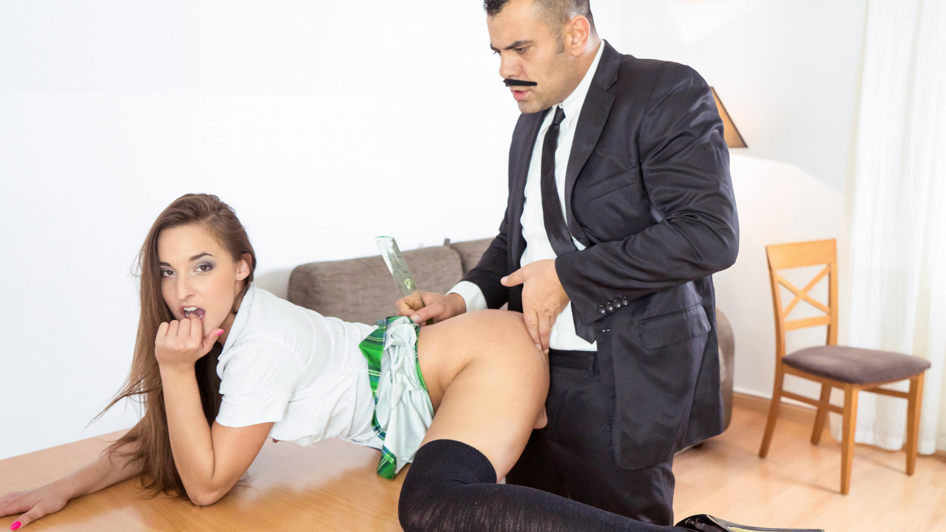 Funny sex ed tutorial on how to roleplay with Hungarian hottie Amirah Adara